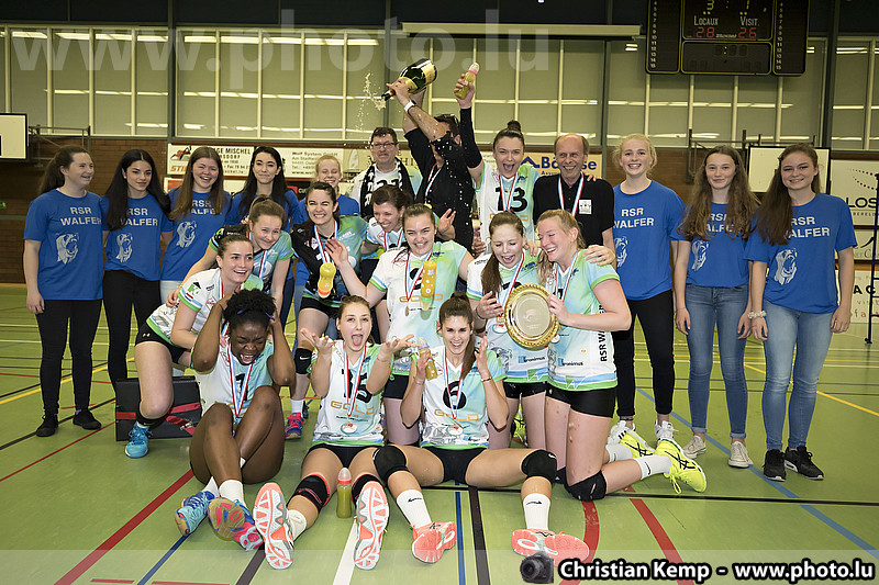 Championship final #2: Walferdange - Diekirch (women)